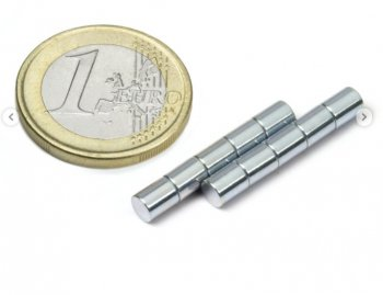 Staaf Magneten 5 x 5 mm